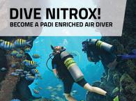 PADI Enriched Air Diver in Eilat