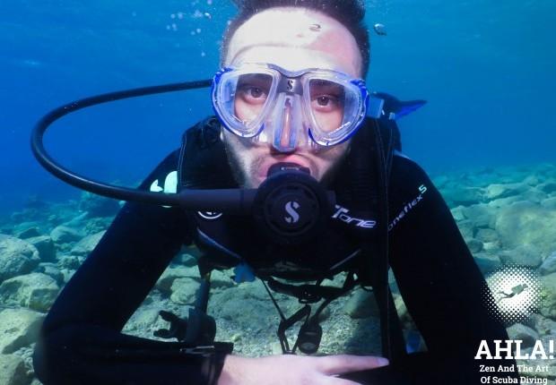 scuba diver course in Israel