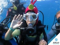 diving for kids in Eilat