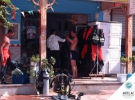 Diver's instruction, rules of using a wetsuit