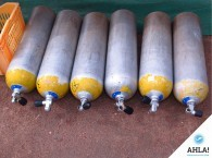 Safety in diving: diving cylinders