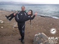 diving in winter in Eilat Red Sea