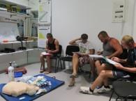 Первая помощь дайверам, специализация CPR