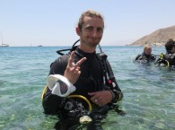 Scuba Diving Instructor SSI Ашер Давидсон