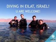 Дайвинг в Израиле, Эйлат 2016
