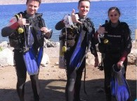 студенты курса Discover Scuba Diving из Польшы_course, students Discover Scuba Diving from Poland