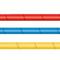 מגן צינור פלסטיק מלופף